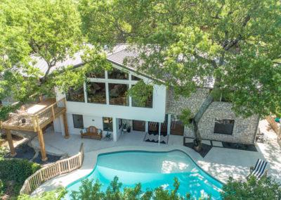 Aerial - Backyard/Pool